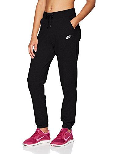 Nike Damen Hose Jersey Cuffed, grauweiß, M, 617330 - Attenas