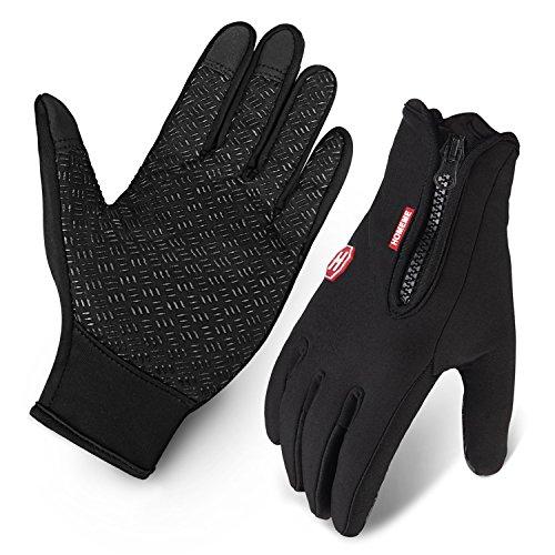 fahrrad handschuhe wasserabweisend touchscreen im winter. Black Bedroom Furniture Sets. Home Design Ideas