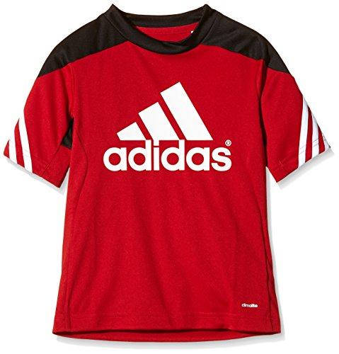 adidas Unisex - Kinder Trainingsanzug Sereno14, Uniredblack