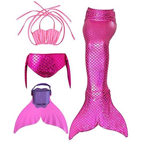 Madchen Bikini Badeanzuge Meerjungfrauenschwanz Zum Schwimmen Mit
