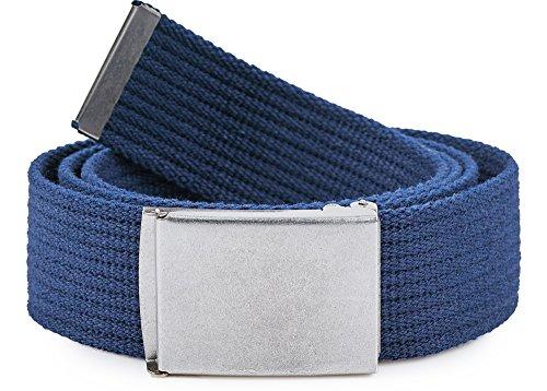 7cd5786654c757 Urban Classics TB305 Unisex Gürtel Canvas Belt für Herren und Damen ...