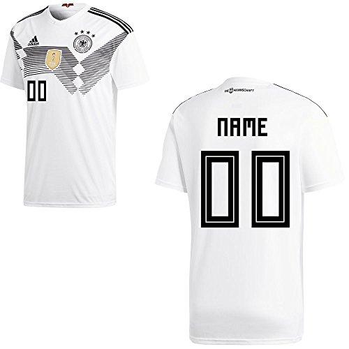 6420ec94cf5ec adidas Fußball DFB WM 2018 Deutschland Trikot Kinder Wunschname 00 ...