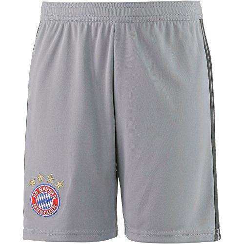 adidas Kinder FC Bayern Torwart Heim Langarm Trikot, Black