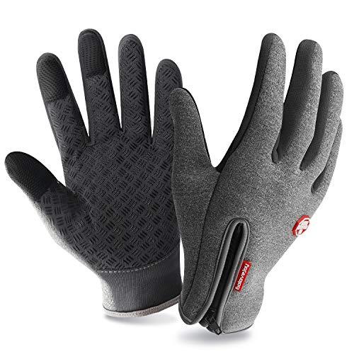 6ccf04194b7242 T98 Touchscreen Handschuhe Fahrradhandschuhe Winddicht Wasserdichter  Laufhandschuhe Sporthandschuhe Warme Winterhandschuhe Damen Herren Laufen  Rutschfest ...