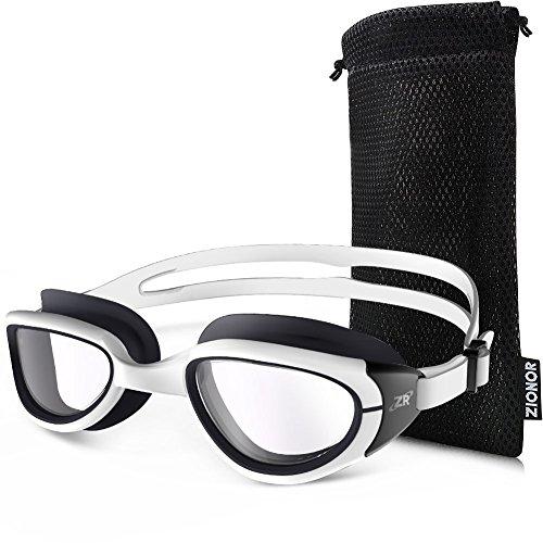 9aa4eb8a50b9f ZIONOR G6 Schwimmbrille mit Spiegel/klarem Objektiv UV-Schutz ...
